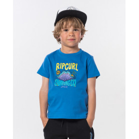 Тениска Rip Curl JAWS SS TEE GROMS-BLUE STAR