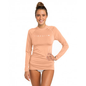 Rip Curl SUNNY RAYS RELAXED L/SL -PEACH