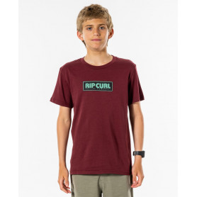 Тениска Rip Curl SURF REVIVAL DECAL TEE-BY -MAROON