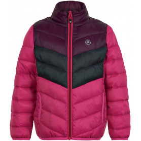 Яке Color kids quilted, packable  Pink Peacoc