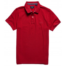 Тениска SUPERDRY CLASSIC PIQUE POLO Hike Red Marl 2