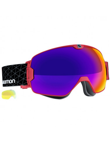 FW16 GOGGLES XMAX RED/SOLAR-81146
