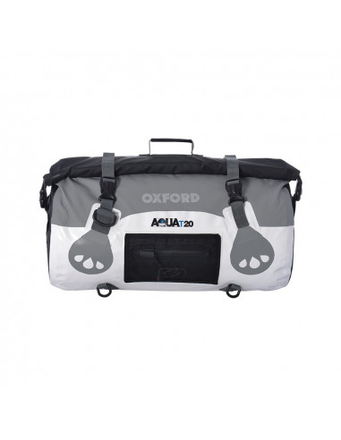 AQUA T-20 ROLL BAG - WHITE/GREY