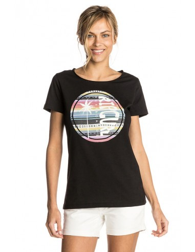 Тениска HIBISCUS BEACH TEE -BLACK -L