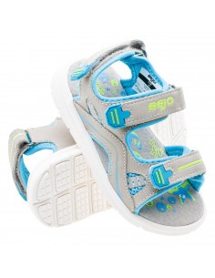 Сандали SUMTER KIDS-GREY/BLUE/LIGHT LIME-95020