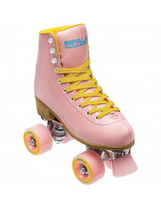 Ролери IMPALA QUAD SKATE-PINK/YELLOW-99777